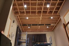 dropping ceiling framing for drywall pictures to pin on