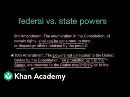 The Federal In Federalism Venn Diagram Answers Federal And State Powers And The Tenth And Fourteenth Amendments