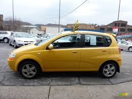 All Chevy chevy aveo 2006 : 2006 Summer Yellow Chevrolet Aveo LT Hatchback #47539123 Photo #6 ...