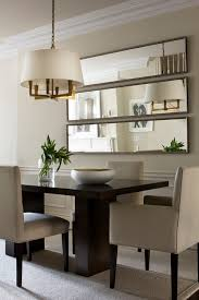horizontal panels a great idea that you can use is instead of hanging a big mirror vertically try placing it horizontally