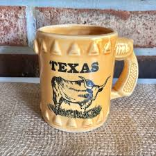 Ceramic coffee mug dishwasher and microwave safe smooth molded ceramic composite frequently bought together + + total price: Dining Vintage Texas Longhorn Gun Handle Coffee Mug Cup Poshmark