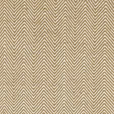 zigzag sand white cotton rug