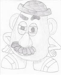 mr potato head drawing. Contemporary Head Mr Potato Head Toy Story Mr Head Heads Story Throughout Drawing W