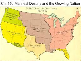 process webquest for manifest destiny picture