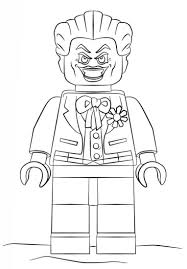 Batman Lego Coloring Pages Dapmalaysiainfo