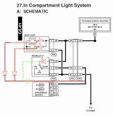 interior light merged th page 4 subaru forester owners forum 12 volts comes in through a blue red wire lr in the diagram it goes through one of the stock incandescents or the replacement leds to a map light