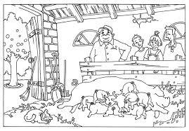 Kleurplaat Kinderboerderij Dieren Kleurplaten Van De Kinderboerderij