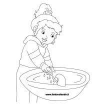 Disegni Da Colorare Igiene Personale Igiene Bambiniinsegnare E