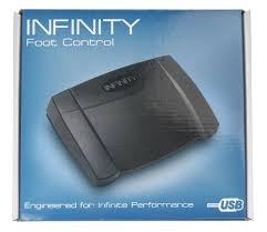infinity usb digital foot control. amazon.com: ecs fs-85usb usb foot pedal for use with sony digital voice editor: electronics infinity usb control
