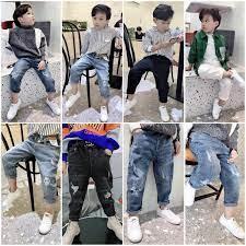 Quần jean cho bé trai 9 tháng đến 1-2-3 tuổi lưng thun mềm – DoChoBeYeu.com