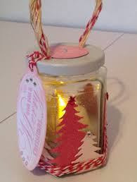 Decorated Jam Jars For Christmas Jam Jar Tea Light Projects To Try Pinterest Crafters 7