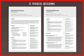 Apa Resume Template Classy Two Page Resume Template Apa Example