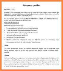 Company Bio Template Unique Company Profile Sample Download Vaydileeuforicco
