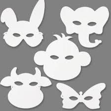Card Masks To Decorate Made from heavy duty white card these masks are ready to decorate 41