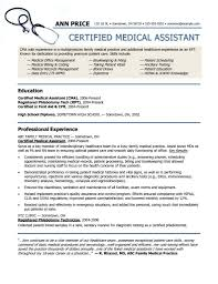 Free Medical Assistant Resume Templates Resumes 2088 Resume