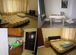 Great Yellow Exterior Idea From Stunning Design One Bedroom. Studio Apartment  Rental ...