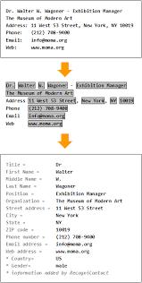 Parser Address International com Copy2calendar Recognicontact – -