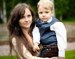 Russian mature women son