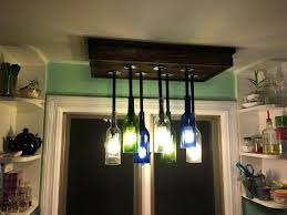 ideas home projects diy wine bottle chandelier how to build a