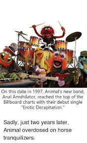 Top Charts 1997 On This Date In 1997 Animals New Band Anal Annihilator