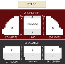 Music Box Theatre New York Seating Chart Music Box Theater New York Ny Seating Chart Stage