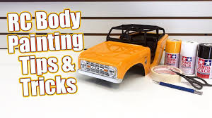 Simple Rc Body Painting Tips Tricks How To Spray Paint The Pro Line Ford Bronco Rc Driver