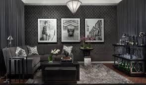 Living Room With Black Furniture Black Furniture Interior Design Photo Ideas Small Design Ideas