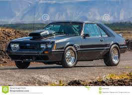Ford Mustang LX editorial stock image. Image of 1986 - 36494059