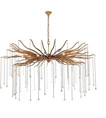 elegant lighting 1539g60dag willow 8 light 60 inch drizzled antique gold chandelier ceiling light urban classic