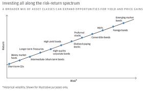Risk Vs Return Chart Investment Risk Reward Chart Jse Top 40 Share Price
