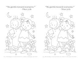 Kindness Coloring Pages Fruit Of The Spirit Coloring Pages Holy