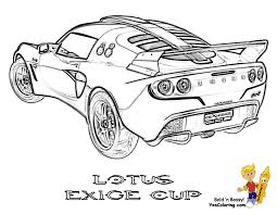 Lotus Car Coloring Page L