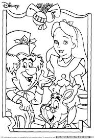 Small Picture 51 best Alice in Wonderland coloring pages images on Pinterest