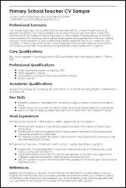 Sample Resume For Teachers Job Education Resume Template Word Best Resume Format For