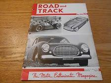 s l225 jpg 1950 road and track original magazine henry j mg 50 sport cars