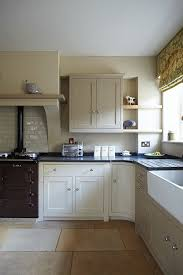 kitchen painted in farrow ball savage ground london stone and off white