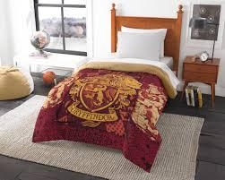 harry potter gryffindor house crest twin or full comforter 0