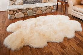overland 4 pelt australian sheepskin rug