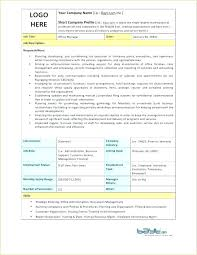 Catering Manager Job Description Interesting Restaurant Manager Job Description Template