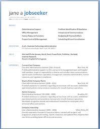 Free Resume Template Microsoft Word Free Microsoft Word Resume