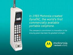 first motorola phones. we also have a shared history in space. moto was there\u2014in manner of speaking\u2014for the 1969 moon landing while lenovians love to note that thinkpad is first motorola phones e