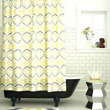 yellow and white shower curtains yellow and grey shower curtain yellow grey and white shower curtain