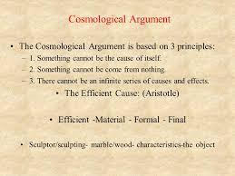 philosophy of religion ppt video online cosmological argument
