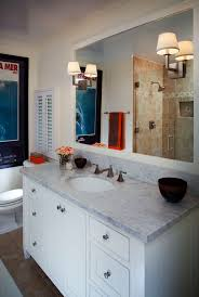 BathroomvanitytopideasBathroomTraditionalwithmarblecounter New Bathroom Vanity Countertop Ideas