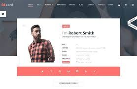Free One Page Templates Freelance Website Template Bootstrap – Rigaud