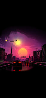 Sunset aesthetic minimal wallpaper - HD ...