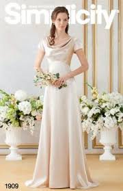 Simplicity Wedding Dress Patterns Best Royal Wedding Bridesmaid Bridal Formal Gown Dress Sewing Pattern