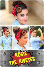 rosie the riveter hairstyle tutorial so easy and so cute hairstyles hairstyles hairstyle h cute s hairstyles photos