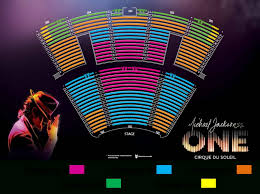 Michael Jackson Cirque Vegas Seating Chart Michael Jackson One By Cirque Du Soleil Travelivery