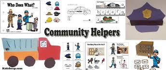 Community Helpers Preschool Activities Crafts Lessons And